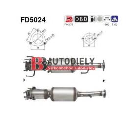ALFA ROMEO 147 - DPF filter pevných častíc 1,9 JTD