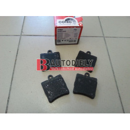 MERCEDES BENZ SLK R171- Zadné platničky SADA /TRW/
