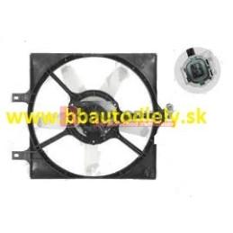 NISSAN PRIMERA 10/96-3/02- ventilátor chladiče /1,6i-2,0i/ s klímou