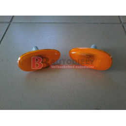 DAEWOO LANOS 2/97- boční směrovky SADA /oranžové/