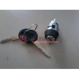 AUDI 80 8/86-9/91- Vložka spínací skříňky + 2 klíče