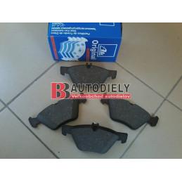 MERCEDES BENZ E W211 3/02-3/2009- Přední brzdové destičky SADA /ATE/ - pro modely 4 Motion