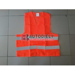 Reflexná vesta /oranžová/