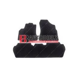 Textilní rohože černé SADA 3ks /5sedadel/