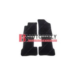 Textilní rohože černé SADA 4ks