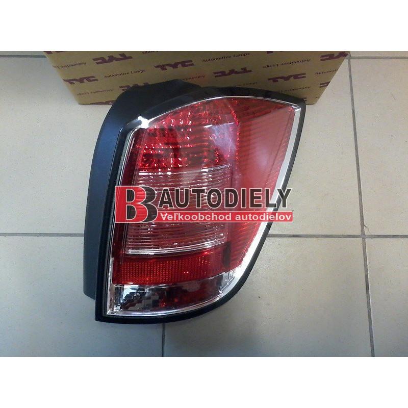 Audi A2 9/00- zadní světlo Levé