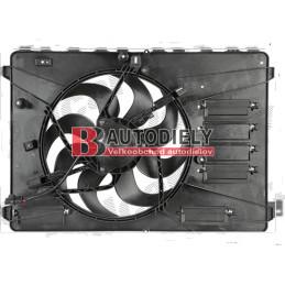 FORD MONDEO 7/07- Ventilátor chladiča /2,0i-2,3i-2,0TDCi/ -bez modulu nastavenia